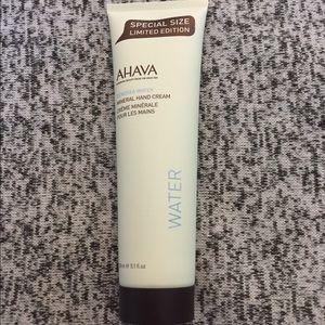 Ahava Dead Sea mineral hand cream